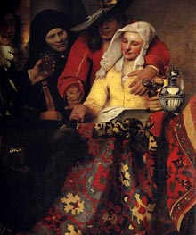 Vermeer | The Procuress | Giclée Canvas Print
