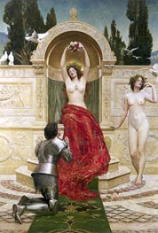 John Collier | In the Venusburg (Tannhauser), 1901 | Giclée Canvas Print