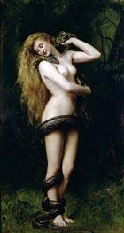 John Collier | Lilith, 1889 | Giclée Canvas Print