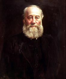 John Collier | Portrait of James Prescott Joule, 1882 | Giclée Canvas Print