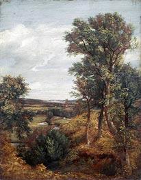 Constable | Dedham Vale, 1802 by | Giclée Canvas Print