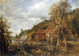 Constable | Arundel Mill and Castle, 1837 | Giclée Canvas Print