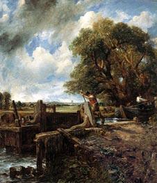 Constable | The Lock, 1824 | Giclée Canvas Print