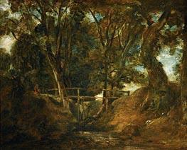 Constable | Helmingham Dell, Suffolk, c.1823 | Giclée Canvas Print
