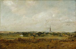 Constable | View of Salisbury, undated | Giclée Canvas Print