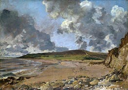 Constable | Weymouth Bay - Bowleaze Cove and Jordon Hill, c.1816/17 | Giclée Canvas Print