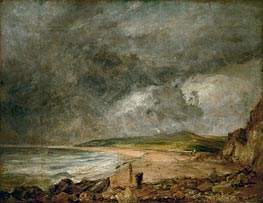 Constable | The Bay of Weymouth before a Thunderstorm | Giclée Canvas Print