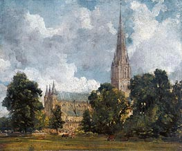 Constable | Salisbury Cathedral from the Southwest | Giclée Canvas Print