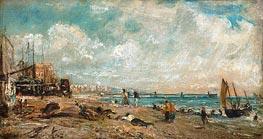 Constable | The Marine Parade and Chain Pier, Brighton (Sketch) | Giclée Canvas Print