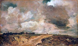 Constable | Road to the Spaniards, Hampstead | Giclée Canvas Print