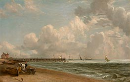Yarmouth Jetty, c.1822/23 by Constable | Giclée Canvas Print