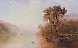 Lake George, c.1860 by John Frederick Kensett | Giclée Canvas Print