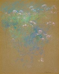 Flowers, c.1900 by John Henry Twachtman | Giclée Paper Print