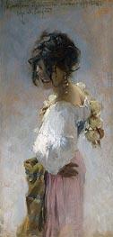 Sargent | Rosina, 1878 by | Giclée Canvas Print