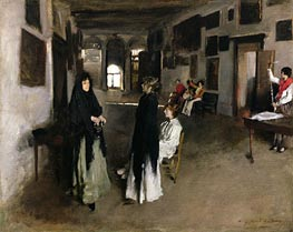 Sargent | A Venetian Interior | Giclée Canvas Print