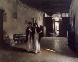 Sargent | Venetian Interior | Giclée Canvas Print