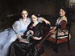 Sargent | The Misses Vickers | Giclée Canvas Print