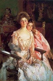 Sargent | Mrs. Fiske Warren and Her Daughter Rachel | Giclée Canvas Print