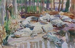 Muddy Alligators, 1917 by Sargent | Giclée Paper Print