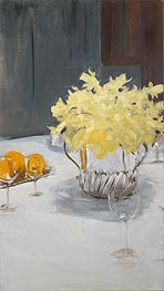Still Life with Daffodils, c.1885 by Sargent | Giclée Canvas Print
