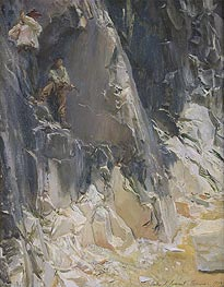 Sargent | Marble Quarries at Carrara, 1913 | Giclée Canvas Print