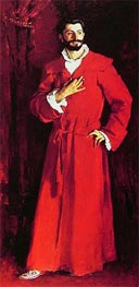 Sargent | Dr Pozzi at Home, 1881 | Giclée Canvas Print