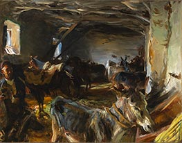 Stable at Cuenca, 1903 by Sargent | Giclée Canvas Print