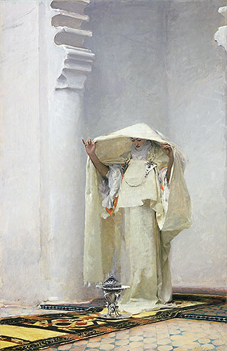 Fumee d'Ambre Gris (Smoke of Ambergris), 1880   Sargent   Painting Reproduction