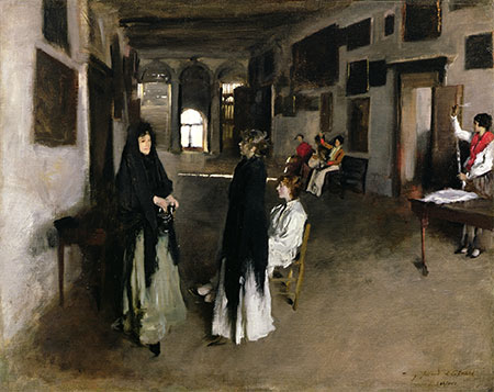 A Venetian Interior, c.1880/82 | Sargent | Painting Reproduction