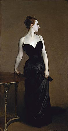 Madame X (Madame Pierre Gautreau), 1884 | Sargent | Painting Reproduction