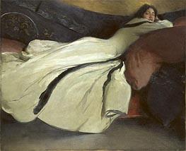 John White Alexander | Repose, 1895 | Giclée Canvas Print