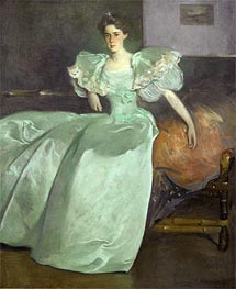 John White Alexander | Miss Helen Manice, 1895 | Giclée Canvas Print