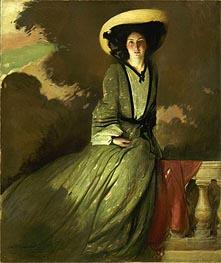 John White Alexander | Portrait of Mrs. John White Alexander | Giclée Canvas Print