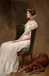 Miss Dorothy Quincy Roosevelt, c.1901/02 by John White Alexander | Giclée Canvas Print