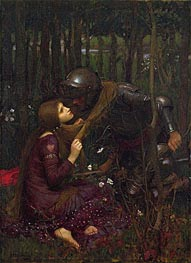 Waterhouse | La Belle Dame Sans Merci, 1893 by | Giclée Canvas Print