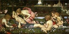 Waterhouse | The Awakening of Adonis | Giclée Canvas Print