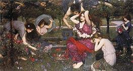 Waterhouse | Flora and the Zephyrs | Giclée Canvas Print