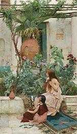 Waterhouse | The Toilet (At Capri), 1889 | Giclée Canvas Print