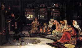 Waterhouse | Consulting the Oracle, 1884 | Giclée Canvas Print