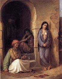 Waterhouse | The Slave, 1872 | Giclée Canvas Print