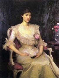 Waterhouse | Miss Margaret Henderson, 1900 | Giclée Canvas Print