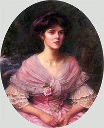 Waterhouse | Mrs A. P. Henderson, 1908 | Giclée Canvas Print