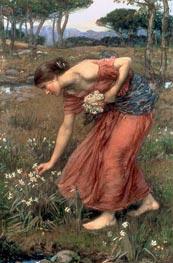 Waterhouse | Narcissus, 1912 | Giclée Canvas Print