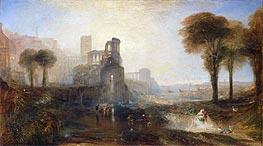 J. M. W. Turner | Caligula's Palace and Bridge, 1831 by | Giclée Canvas Print