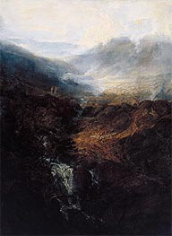 Morning amongst the Coniston Fells, Cumberland, 1798 by J. M. W. Turner | Giclée Canvas Print