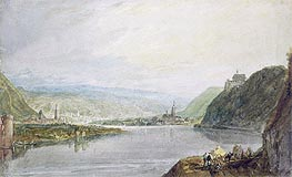 J. M. W. Turner | Remagen, Erpel and Linz | Giclée Paper Print