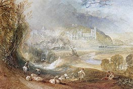 Arundel Castle and Town, c.1824 by J. M. W. Turner | Giclée Paper Print