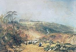 Eridge Castle, East Sussex, undated by J. M. W. Turner | Giclée Paper Print