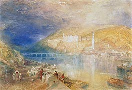 J. M. W. Turner | Heidelberg: Sunset, c.1840/42 | Giclée Paper Print