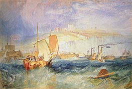 J. M. W. Turner | Dover Castle from the Sea, 1822 | Giclée Paper Print